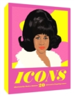 Icons: 50 Legendary Women in Music Notecards - Book