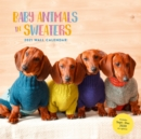 2021 Wall Calendar: Baby Animals in Sweaters - Book