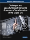 Challenges and Opportunities of Corporate Governance Transformation in the Digital Era - Book