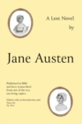Jane Austen's Lost Novel : Its Importance for Understanding the Development of Her Art. Edited with an Introduction and Notes by P.J. Allen - Book