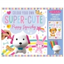 Colour Your Own Super-Cute Puppy Squishy - Book