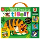 Never Touch a Tiger! Jigsaw - Book