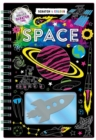 Scratch & Colour: Space - Book