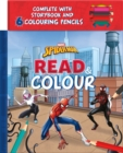 Marvel Spider-Man: Read & Colour - Book