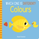 Which One Is Different? Colours - Book