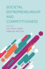 Societal Entrepreneurship and Competitiveness - Book