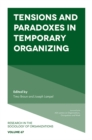 Tensions and paradoxes in temporary organizing - Book