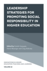 Leadership Strategies for Promoting Social Responsibility in Higher Education - Book