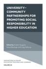 University-Community Partnerships for Promoting Social Responsibility in Higher Education - Book