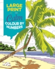 Large Print Calm Colour by Numbers - Book