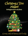 Kindergarten Homework Sheets (Christmas Tree Maker) : This book can be used to make fantastic and colorful christmas trees. This book comes with a collection of downloadable PDF books that will help y - Book