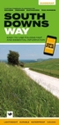 South Downs Way : Easy-to-use folding map and essential information, with custom itinerary planning for walkers, trekkers, fastpackers and trail runners - Book
