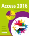 Access 2016 in Easy Steps - Book