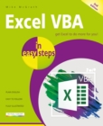 Excel VBA in easy steps : Covers Visual Studio Community 2017 - Book
