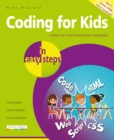 Coding for Kids in easy steps - Book