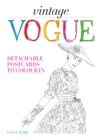 Vintage Vogue : Detachable Postcards to Colour in - Book