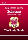 KS3 Science Study Guide - Foundation - Book
