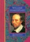 William Shakespeare Quotations - Book