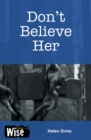 Don't Believe Her - Book