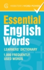 Webster's Word Power Essential English Words : Learners' Dictionary - eBook