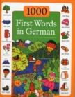 1000 First Words in German - Book
