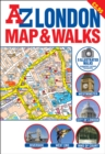 A-Z London Map and Walks - Book
