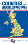 Great Britain Counties and Unitary Authorities Map - Book
