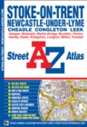 Stoke On Trent Street Atlas - Book