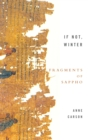 If Not, Winter: Fragments Of Sappho - Book