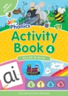 Jolly Phonics Activity Book 4 : In Precursive Letters (British English edition) - Book