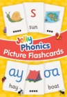 Jolly Phonics Picture Flash Cards : in Precursive Letters - Book
