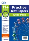 11+ Mock Test Papers Tutor Pack for CEM Inc Audio Download - Book
