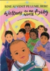 Welcome to the World Baby in Romanian and English - Book