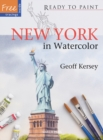 Ready to Paint: New York : In Watercolour - Book