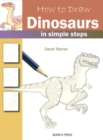 How to Draw: Dinosaurs - Book