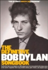 The Definitive Bob Dylan Songbook (Small Format) - Book