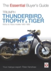 Triumph Trophy & Tiger : The Essential Buyer's Guide - Book