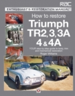 Triumph TR2, 3, 3A, 4 & 4A - Enthusiast's Restoration Manual - eBook