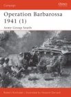 Operation Barbarossa 1941 (1) : Army Group South - eBook