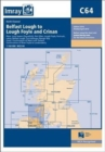 Imray Chart C64 : North Channel - Belfast Lough to Lough Foyle and Crinan - Book