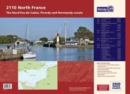 Imray Chart Atlas 2110 : North France - Nord-Pas-de-Calais, Picardy and Normandy Coasts - Book