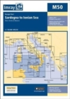 Imray Chart M50 : Sardegna to Ionian Sea - Book