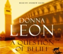 A Question of Belief : (Brunetti 19) - Book