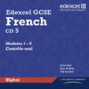 Edexcel GCSE French Higher Audio CDs - Book