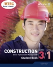 BTEC Entry 3/Level 1 Construction Student Book - Book