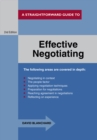 Effective Negotiating : A Straightforward Guide - eBook