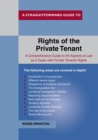 The Rights Of The Private Tenant - Book