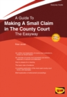 Making A Small Claim In The County Court - Book