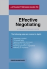 Effective Negotiating - Book