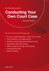 Conducting Your Own Court Case : An Emerald Guide - eBook